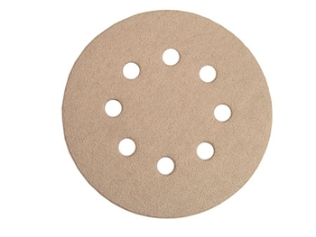"120 Grit 5"" 8 Hole Hook & Loop Sanding Disc"
